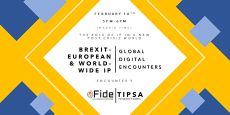 GDE 9: Brexit - European and Worldwide IP tickets
