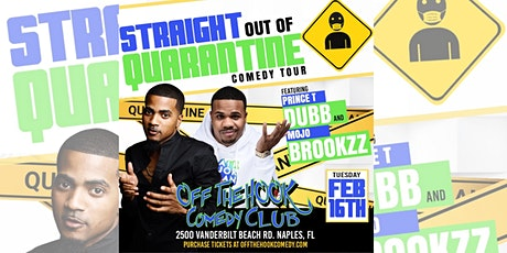 Comedians Prince T Dub and Mojo Brookzz Live In Naples, FL tickets