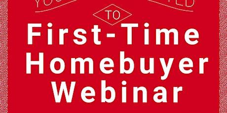 First-Time Homebuyer Webinar tickets