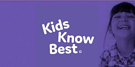 3-7 Year olds: Market Research: KidsKnowBest 27/01/2021 tickets
