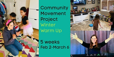 Winter Warm Up: Weekly CREATIVE MOVEMENT  (Preschool) tickets