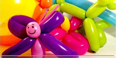 Corso Online di Balloon Art - Sculture con i palloncini biglietti