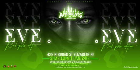 Afrobeats in the City || Eve tickets
