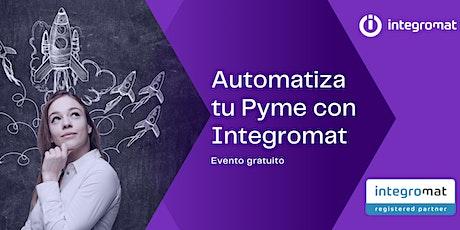 Automatiza tu Pyme con Integromat entradas