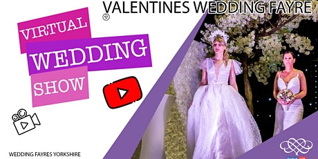Valentines Virtual Wedding Fayre tickets