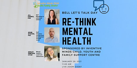Re-Think Mental Health (Bell Let's Talk Day) tickets