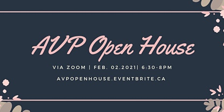 AVP Open House tickets