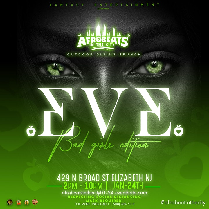 Afrobeats in the City    Eve image