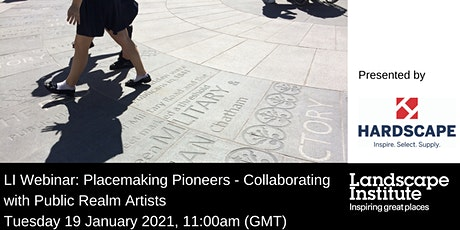 LI Webinar: Placemaking Pioneers - Collaborating with Public Realm Artists tickets