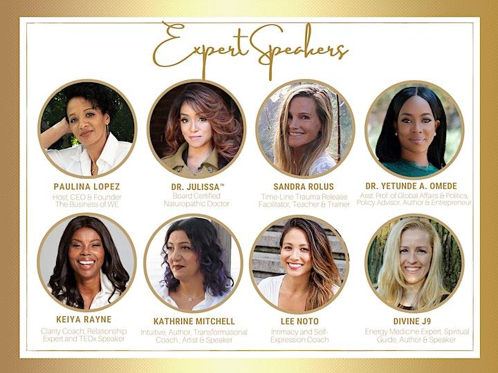 The Business of WE (Women Entrepreneurs) Divine Feminine image