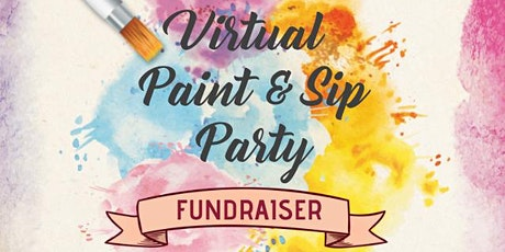 Virtual Paint & Sip Party - Fundraiser for Scholarships tickets