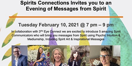 Evening of Messages from Spirit with Spirits Connections & 3rd Eye Connect tickets