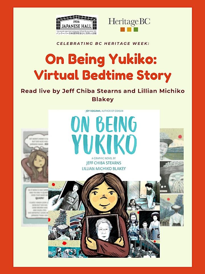 On Being Yukiko: Virtual Bedtime Story image