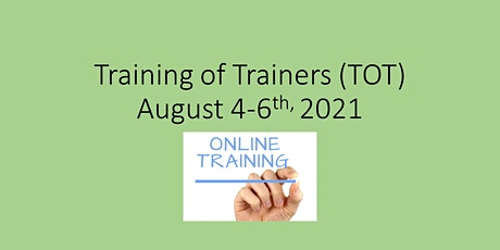 Training of Trainers 2021 tickets