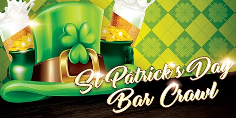 Oklahoma City St. Patrick's Day Bar Crawl - Celebrate St. Patrick's Day! tickets