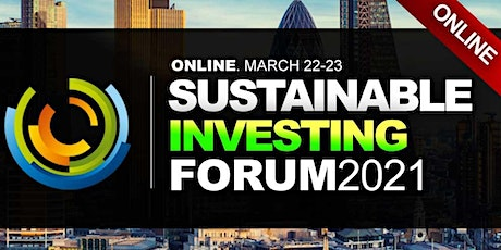 Sustainable Investing Conference 2021 - Virtual Event (Online) tickets