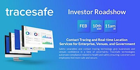 TraceSafe Investor Roadshow biglietti