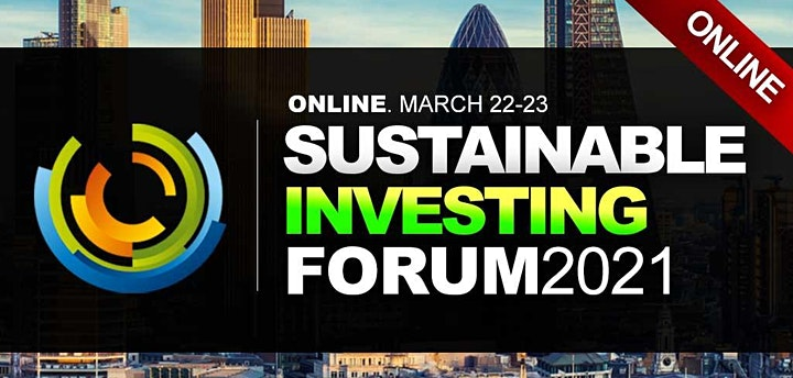 Sustainable Investing Conference 2021 - Virtual Event (Online) image