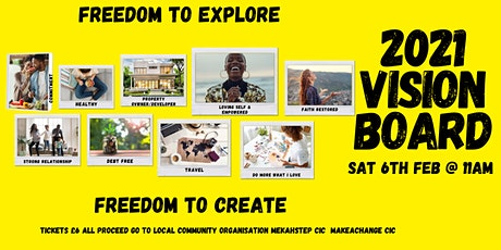 2021 Vision Board Creation Experience tickets