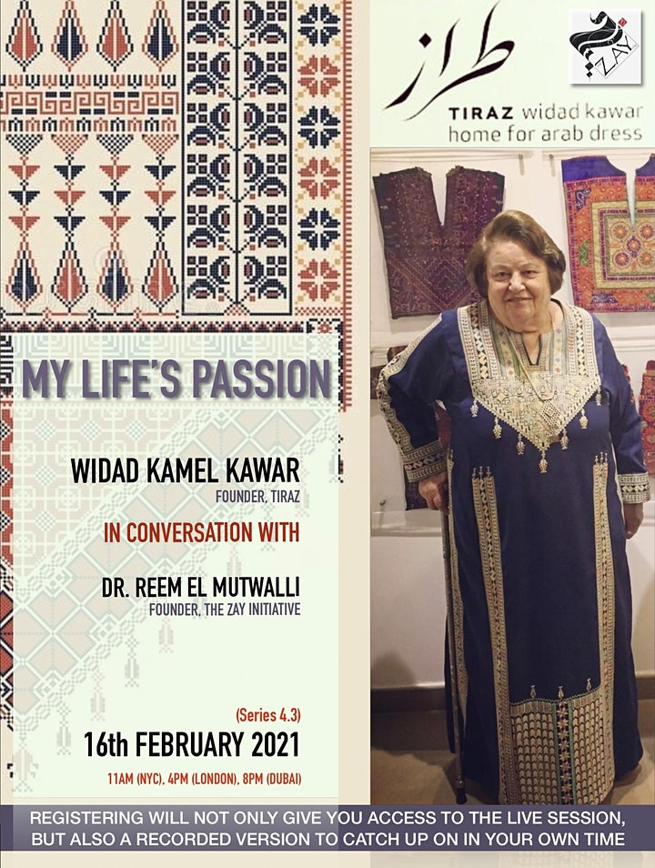 4.3 DIALOGUES ON THE ART OF ARAB FASHION: MY LIFE'S PASSION image