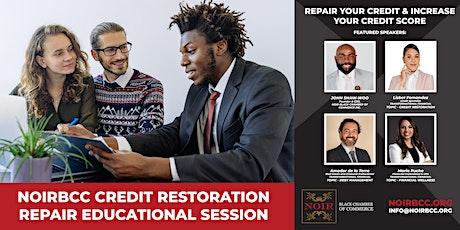 NATIONAL CREDIT RESTORATION & REPAIR EDUCATIONAL SESSION entradas