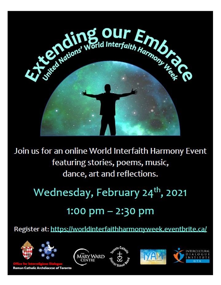 Extending Our Embrace-United Nations' World Interfaith Harmony Week image