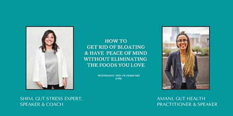 How to Get Rid Of Bloating & Have Peace Of Mind tickets