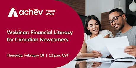 Financial Literacy for Canadian Newcomers tickets