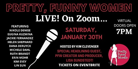 Pretty, Funny Women LIVE (On Zoom)! tickets