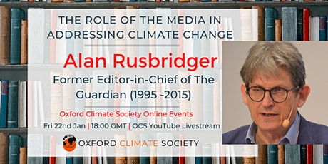 The Role of The Media in Addressing Climate Change tickets