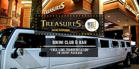 TREASURES Bikini Club & Bar (FREE LIMO) - Nightlife / Party [Las Vegas, NV] tickets