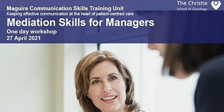 Mediation Skills for Managers - April 2021 tickets