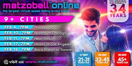 Matzoball Online tickets