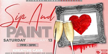 ~Valentine's Weekend~ Sip -n- Paint Nite tickets