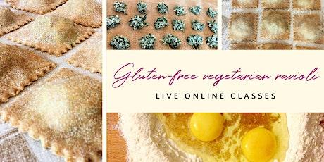 Make delicious gluten-free ravioli tickets