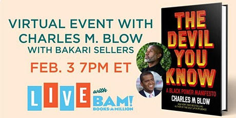 Virtual Event with Charles Blow! tickets