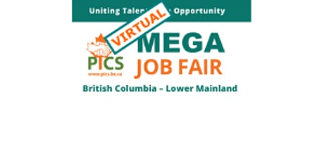 A Virtual PICS Mega Job Fair tickets
