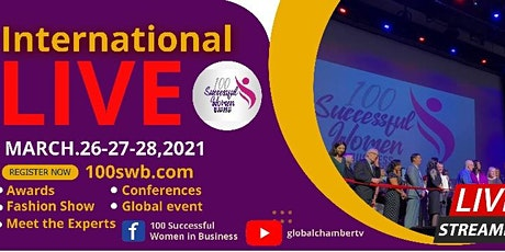 100 Successful Women in Business International Live tickets