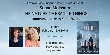 Susan Meissner Virtual FoxTale tickets