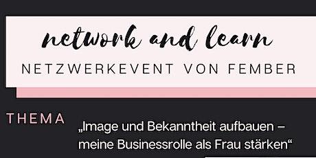 """""""Image und Bekanntheit aufbauen – meine Business-Rolle als Frau stärken"""" Tickets"""