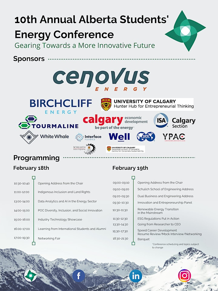 2021 Annual Alberta Students' Energy Conference image