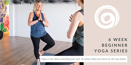 6 Week Beginner Yoga Series tickets
