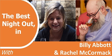 BILLY ABBOTT & RACHEL McCORMACK - The Story of Scotch with a tasting tickets