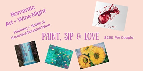 Paint, Sip & Love tickets