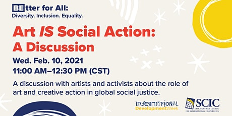 Art IS Social Action | Online Discussion tickets