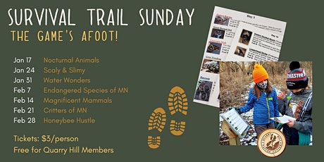 Survival Trail  Sunday tickets