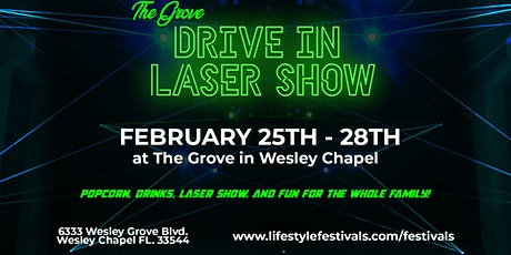 Drive-In Laser Light Show at The Grove tickets