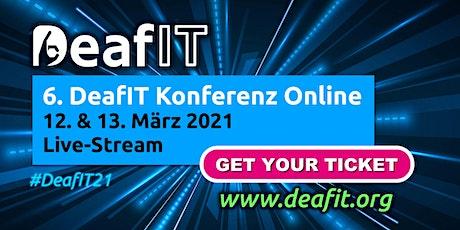 DeafIT Konferenz 2021- Online Tickets