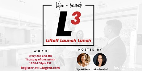 L3 Liftoff Launch Lunch tickets