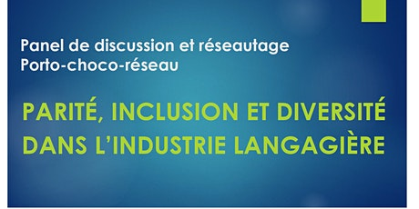 Panel de discussion et réseautage Porto-choco-Réseau (employeurs) billets